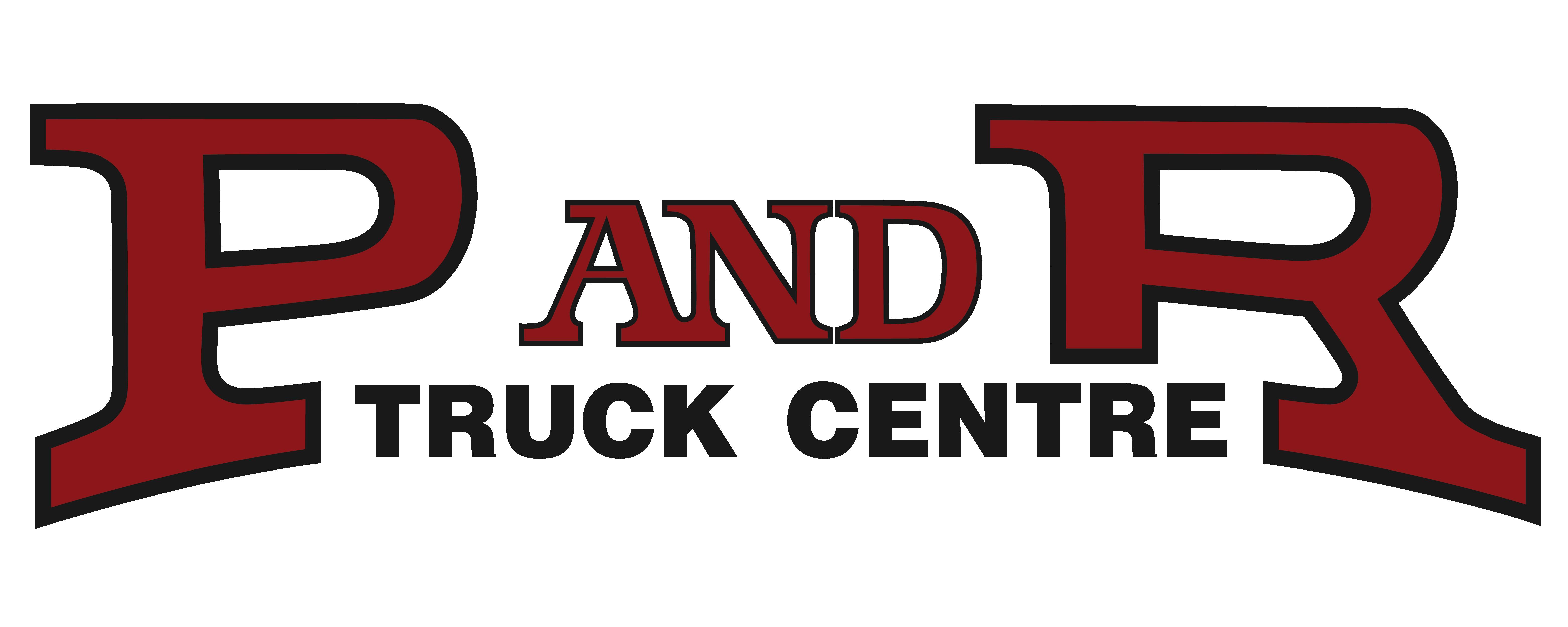 P&R Truck Centre Logo